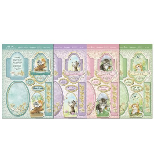 hunkydory scorable little paws easel card kit