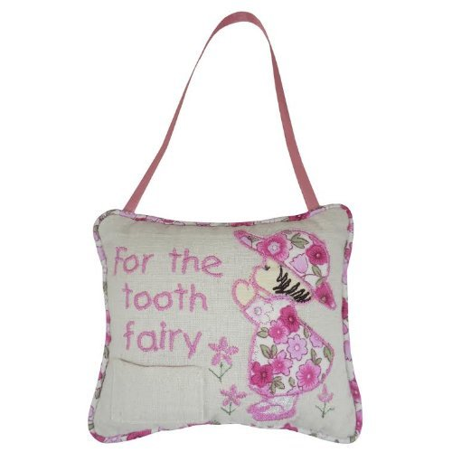 Pink Tooth Fairy Cushion - hanrattycraftsgifts.co.uk