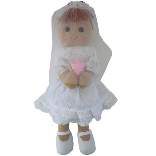 Powell Craft Bride Rag Doll-40 cm - hanrattycraftsgifts.co.uk