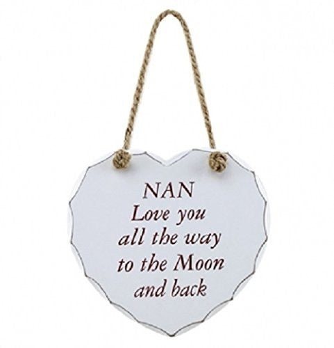 Nan, Love you all the way to the moon and back