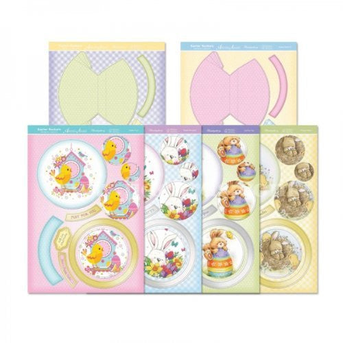 hunkydory adorable scorable premium card kit easter rockers card kit - hanrattycraftsgifts.co.uk