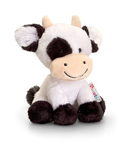 Keel Toys 14 cm Pippins Cow - hanrattycraftsgifts.co.uk