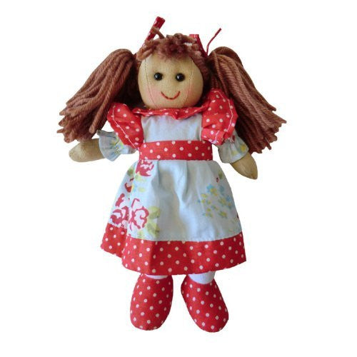 Powell Craft Small Rag Doll with blue dress- 20cm