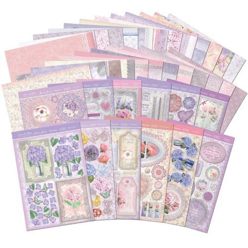 hunkydory adorable scorable luxury card collection lace in bloom - hanrattycraftsgifts.co.uk