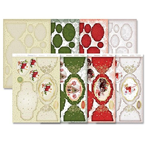 hunkydory   a family  christmas diarama card kit - hanrattycraftsgifts.co.uk