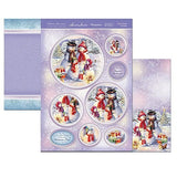 white christmas  Frosty's Family  Snowman  topper set
