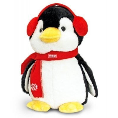 winter hugs penguin 45cm
