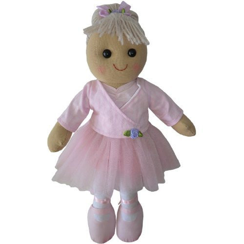 powell craftBallerina Rag Doll - Handmade - Medium 40cms