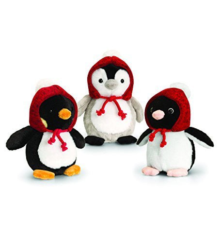 keel toys winter penguins one supplied 15cm - hanrattycraftsgifts.co.uk