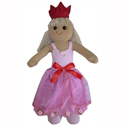 Powell Craft Princess Rag doll-40cm - hanrattycraftsgifts.co.uk