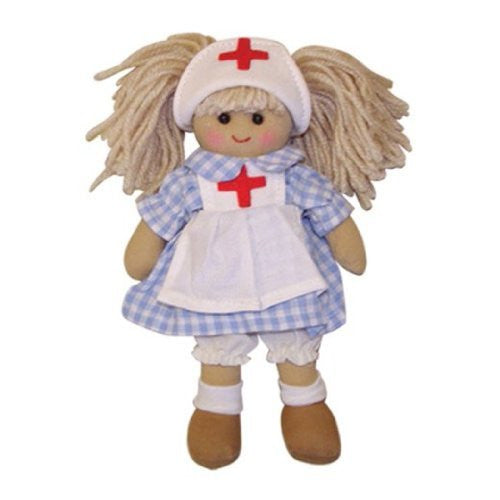 Powell Craft Handmade Nurse Ragdoll - 19 cm Size - Makes a great gift!
