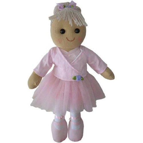 Ballerina Rag Doll - Handmade - Medium 40cms - Powell Craft - hanrattycraftsgifts.co.uk