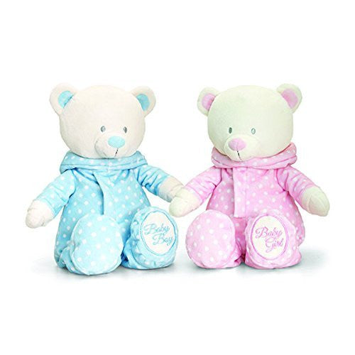 keel 25m baby bear in romper suit pink