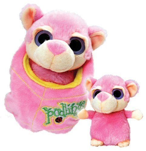 Podling Soft Toys in Pouches from Keel Toys 18cm Petal the Monkey by Keel Toys