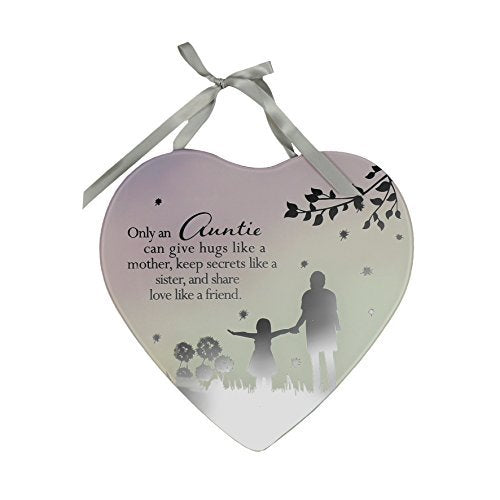 Reflections From The Heart Mirror Plaque - Auntie - hanrattycraftsgifts.co.uk