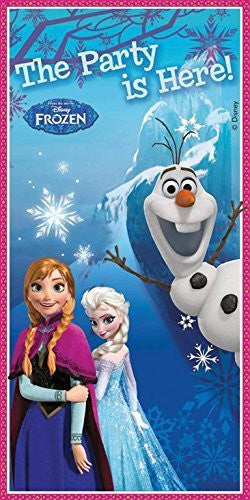 Disney Frozen Door Banner, 5ft x 2.5ft - hanrattycraftsgifts.co.uk