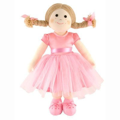 Ballerina Rag Doll - hanrattycraftsgifts.co.uk