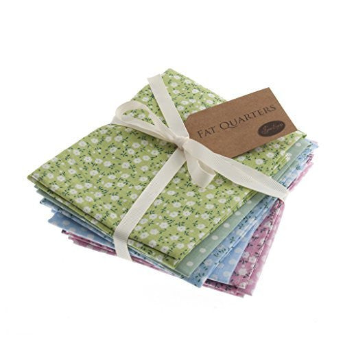NEW Sew Easy Fat Quarter | Design 1 | Pack Of 6 | 45 x 54cm | ERFQ1 - hanrattycraftsgifts.co.uk