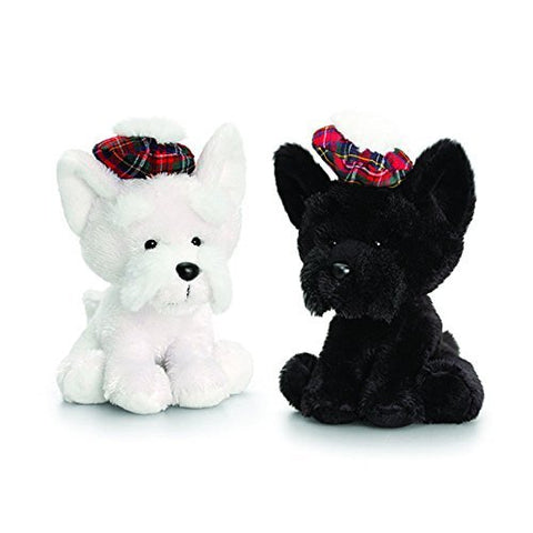 14cm hamish westie & scottie - hanrattycraftsgifts.co.uk