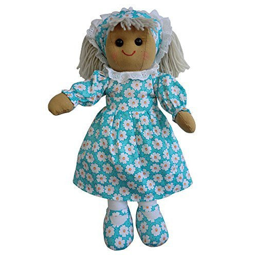 Powell Craft Rag Dolls - Daisy Dress With Head Scarf