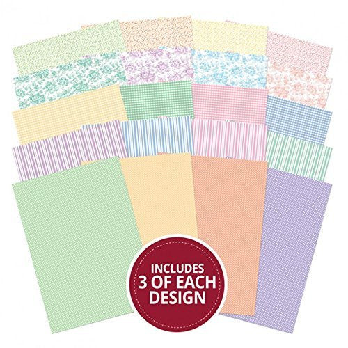 gorgeous ginghams & pretty pastels card block 60sheets