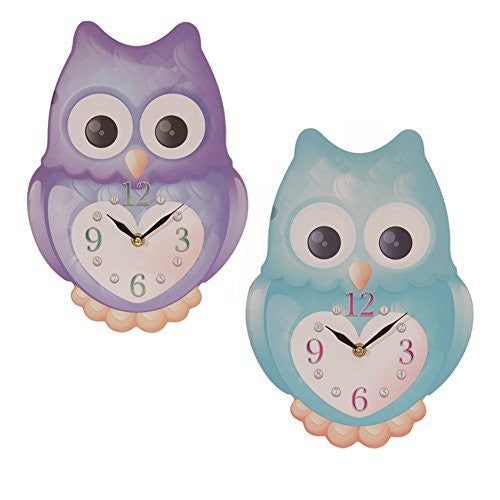 Ted Smith  design owl clock