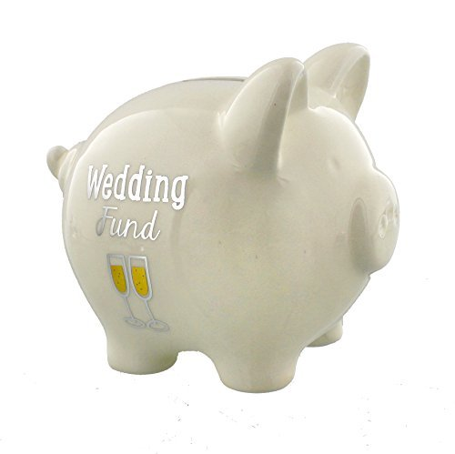 Wendy Jones-Blackett Collection Piggy Bank - Wedding Fund