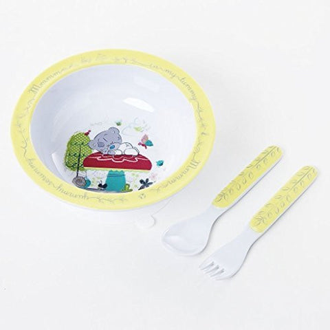 Tiny Tatty Teddy Me to You Bear Bowl, Fork and Spoon Set