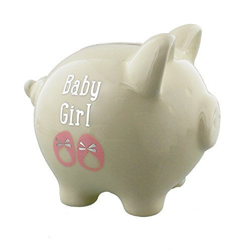 Baby Girl My First Piggy Bank - hanrattycraftsgifts.co.uk