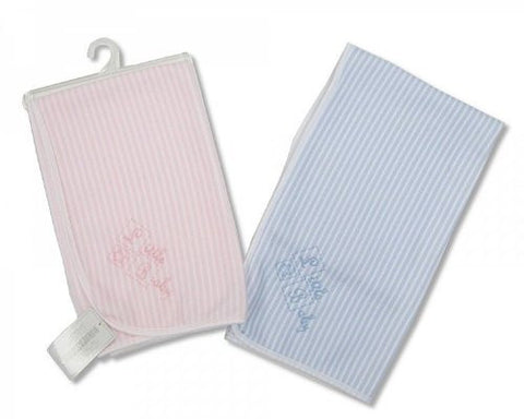 Snuggle Baby Striped Baby Blanket (Pink)