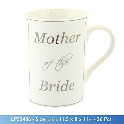 Mother of the Bride Fine China Mug Wedding Thank You Gift - hanrattycraftsgifts.co.uk