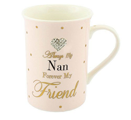Mug - Mad Dots Always My Nan - hanrattycraftsgifts.co.uk
