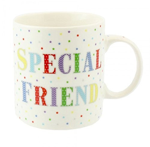 Special Friend - Stars - Mug - Perfect for Birthdays, Christmas - hanrattycraftsgifts.co.uk