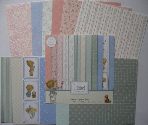 Trimcraft Lillibet 12x12 Paper Pack - hanrattycraftsgifts.co.uk