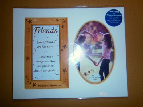special keepsake 8x10 photo mount friends - hanrattycraftsgifts.co.uk