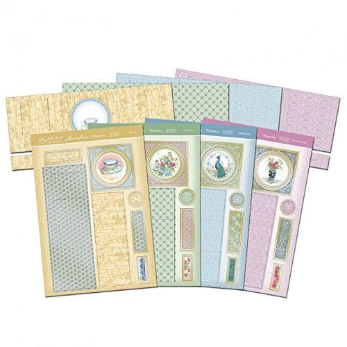 oriental bloom triple tier slider cards - hanrattycraftsgifts.co.uk