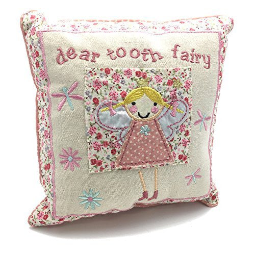 Dear tooth fairy cushion gift - hanrattycraftsgifts.co.uk