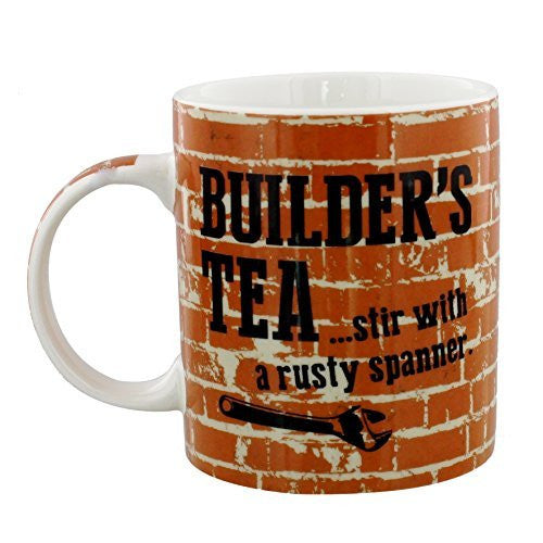 Builders Tea Wildside Mug - hanrattycraftsgifts.co.uk