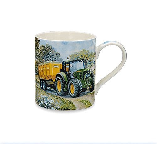 Country Life John Deere Tractor Mug - hanrattycraftsgifts.co.uk
