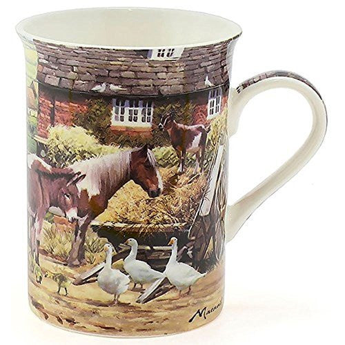 Leonardo Country Life Fine China Box Mug LP92898