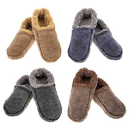 Snoozies Mens Two Tone Assorted one supplied meduim