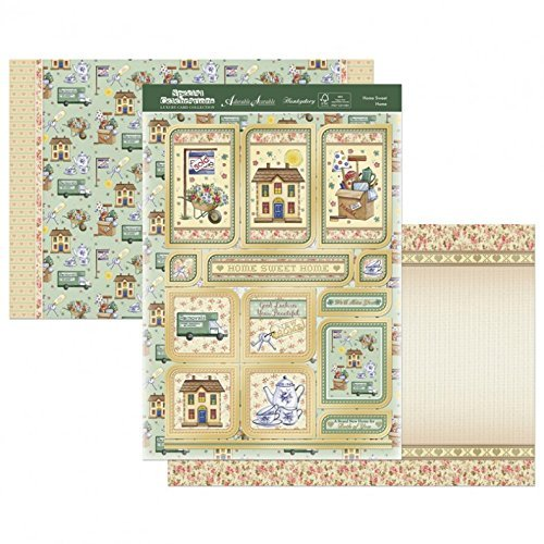 Hunkydory Crafts Hunkydory Celebrations A4 Topper Set-Home, Sweet, Home, - hanrattycraftsgifts.co.uk