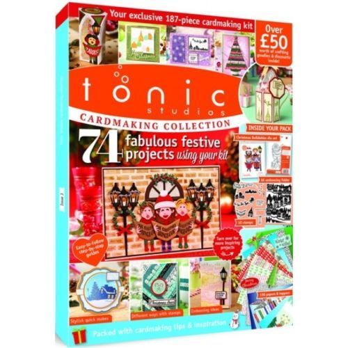 TONIC STUDIOS CARDMAKING COLLECTION MAGAZINE CRAFT ESSENTIALS KIT ISSUE 3 - hanrattycraftsgifts.co.uk