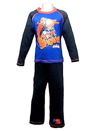 "Boys Childrens Official Marvel Comics Utlimate Spiderman 2 ""Go Spidey"" Pyjamas Pyjama Set - Size / Age 4-5 years, 5-6 years, 7-8 years, 9-10 years (5-6 Years) - hanrattycraftsgifts.co.uk"