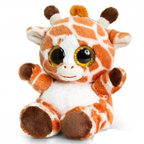Keel Toys 15cm Animotsu Giraffe - hanrattycraftsgifts.co.uk
