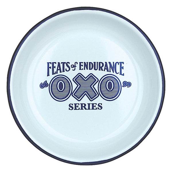 "Feats of Endurance ""OXO"" Enamel Bowl"