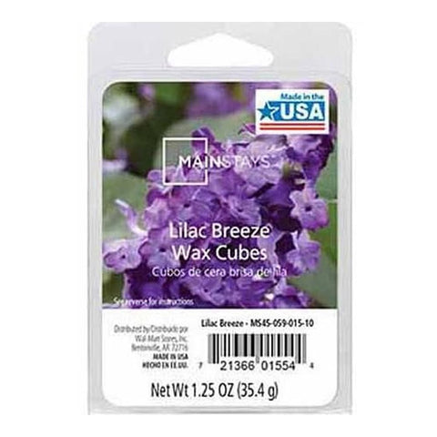 Mainstays Lilac Breeze Scented Wax Cube Melts MS14-059-015-14