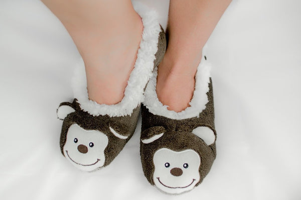 Ladies Animal Snoozies Slippers - Size UK Ladies 3-4 - hanrattycraftsgifts.co.uk