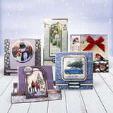 Hunkydory White Christmas Luxury Topper & Card Collection - hanrattycraftsgifts.co.uk