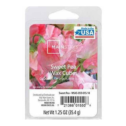 Mainstays Home Fragrance Sweet Pea Wax Cubes